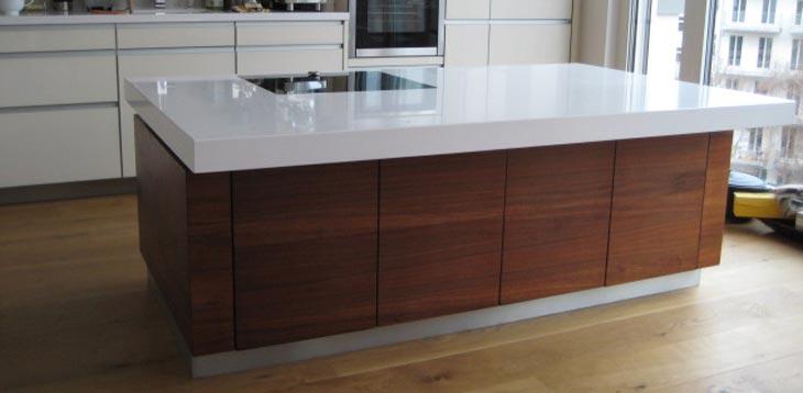 Küchenblock höhenverstellbar